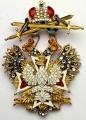 Орден Белого орла с мечами со стразами